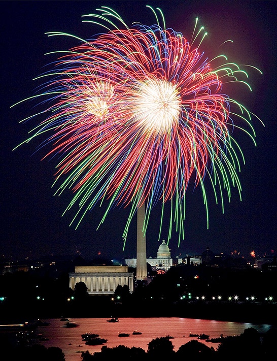 Washington, DC fireworks